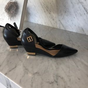 Tory Burch ankle strap pump